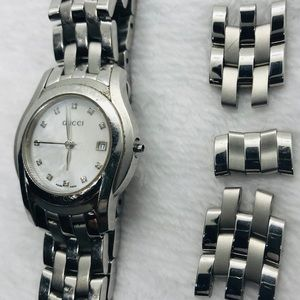 Gucci Accessories - Gucci Woman 100% Authentic 5500 Watch Diamond Dial